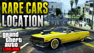 GTA 5 Online Rare Cars Location Online! Several Rare
