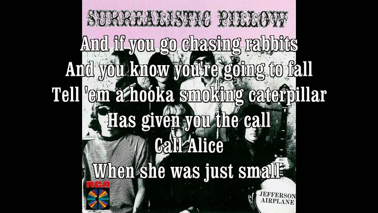 Jefferson Airplane - White Rabbit+Lyrics HQ HD - YouTube