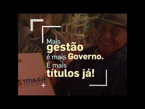 #GovernoQueFaz - Título Já!