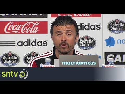 Luis Enrique coy on Barcelona speculation