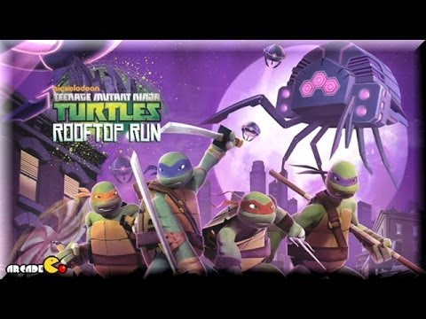 Teenage Mutant Ninja Turtles: Rooftop Run - TMNT Cartoon Game