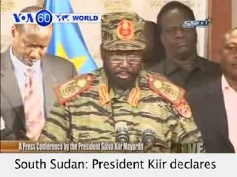 South Sudanese president declares curfew over 'coup attempt'- VOA60 World