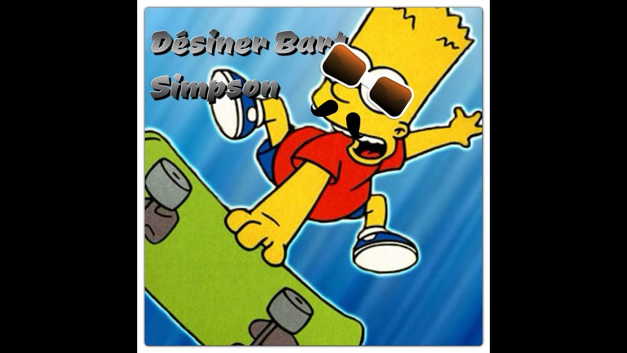 Tuto dessiner bart simpson youtube - Comment dessiner bart simpson ...