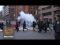 Reuters-Violence flares during Trump inauguration; Limo se..