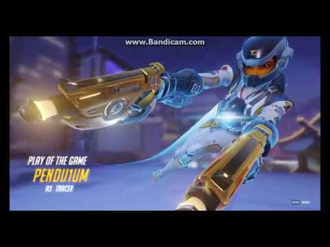Overwatch - Reaching Master as Tracer!