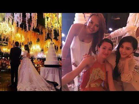 Châu Tấn và Phạm Băng Băng song ca trong đám cưới Lâm Tâm Như