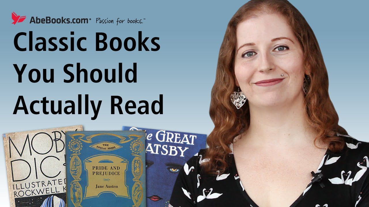 Classic Books You Should Actually Read - YouTube