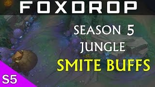 LoL Season 5 Jungle What Smite Jungle Buffs Are Good