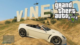 GTA 5: View From VINEWOOD SIGN How To Find Vinewood