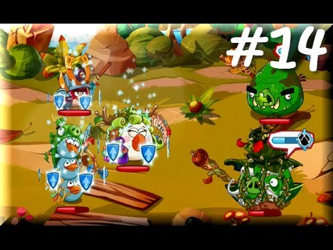 Angry Birds Epic - SlingShot Woods FINAL BOSS - Walkthrough - Part 14