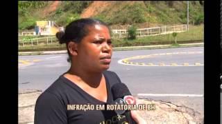 Motoristas ignoram parada obrigat�ria no Bairro Fern�o Dias