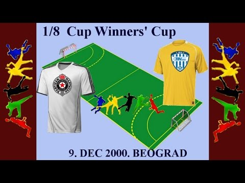 RK Partizan – TBV Lemgo 1/8 Cup Winners' Cup (9. dec 2000.)