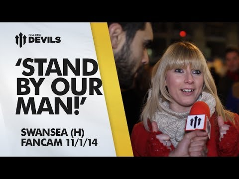 'Stand By Our Man!' | Manchester United 2-0 Swansea City | FANCAM