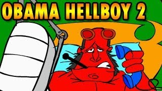 obama hellboy 2 walkthrough