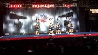 NCA 2014-2015 Ultimate Cheer Lubbock Prodigy Day 1