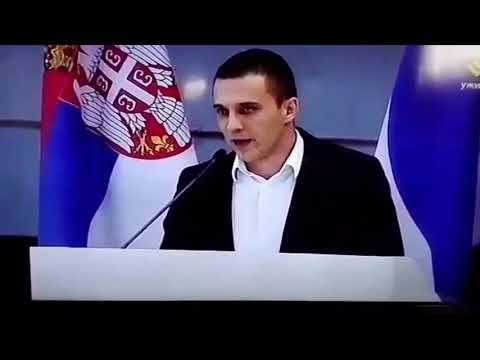 Бранко  Томић Покрет социјалиста је поносан на Веселина Шљиванчанина 28.09.2018.