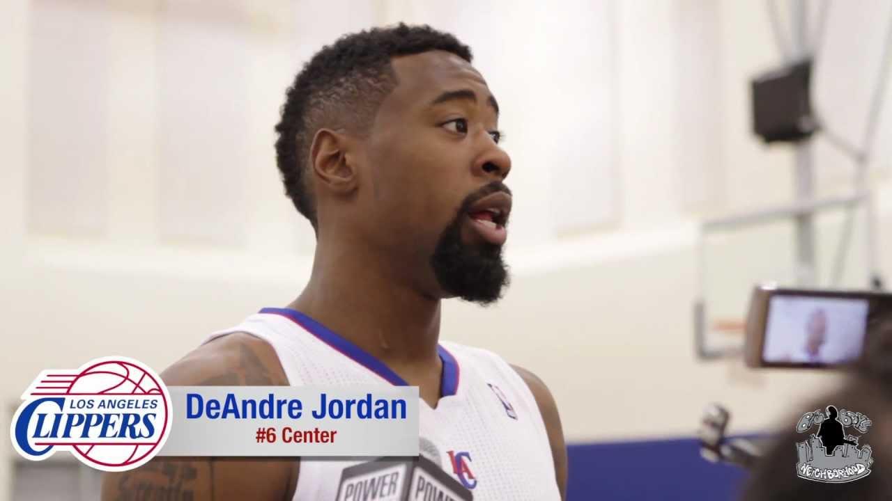 DeAndre Jordan - Clippers Media Day Interview - YouTube