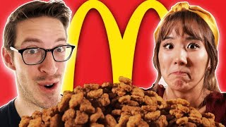 Keith's 400 Chicken McNugget Challenge ft. The Food Babies