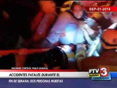 ACCIDENTES FATALES - 01 09 2014 - FTV Noticias