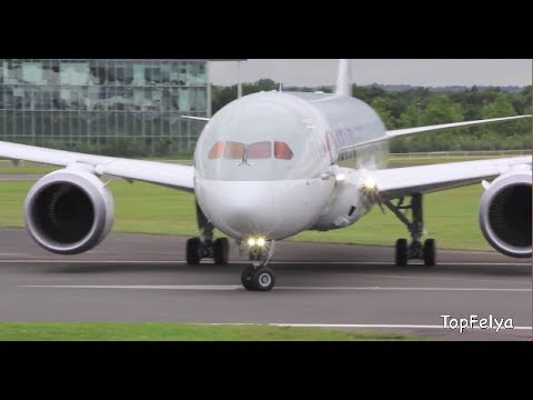 Dreamliner Incredible Takeoff | Boeing 787 at Farnborough 2012 | Filmed by TopFelya