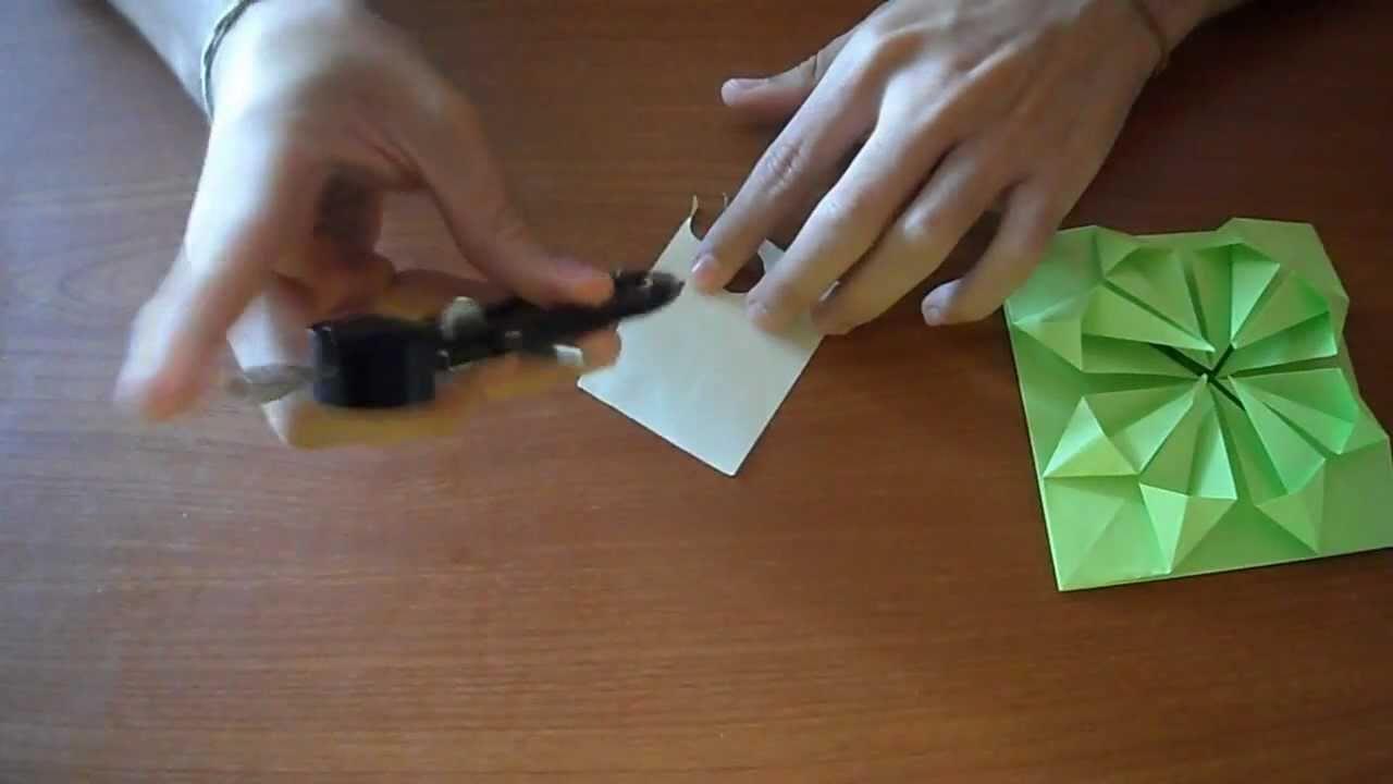 Como hacer una flor carta de papel youtube - Como hacer una mosquitera ...