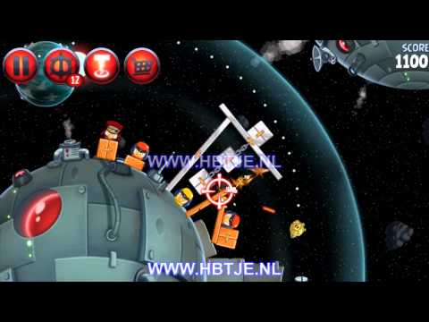 Angry Birds Star Wars 2 Naboo Invasion p1-12 3 stars