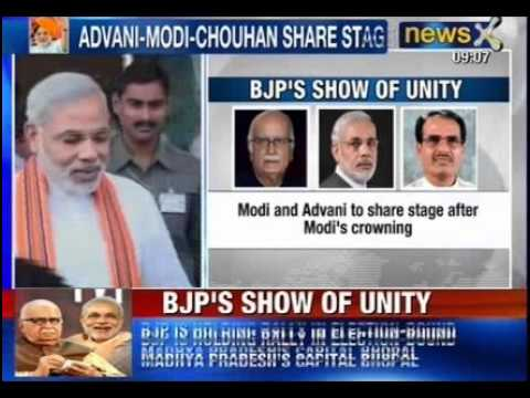 Narendra Modi for Prime Minister : Shivraj Singh Chouhan requested Advani to attend rally - Sources