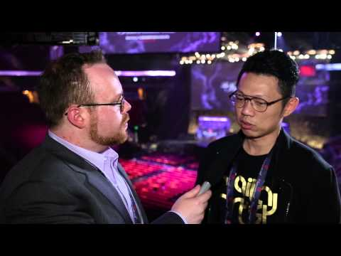 Kunkka interview by Ayesee @ The International 2014 (РУС субтитры)
