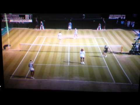 Serena Williams disoriented at Wimbledon 2014