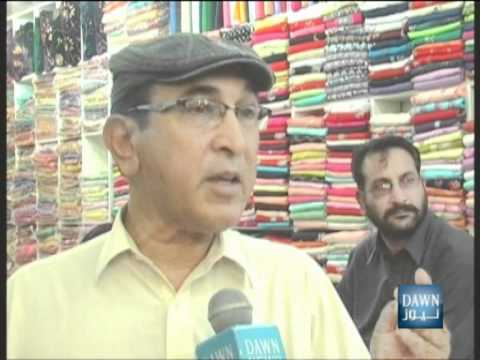 Pakistan-Mansehra Report on Eid Bazar (Eid-ul-Fitar)-DAWN TV.