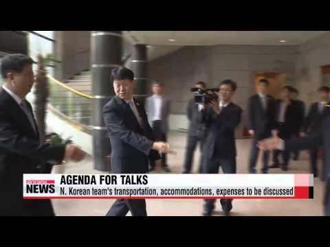 Inter-Korean talks on N. Korea's participation in Incheon Asian Games begin