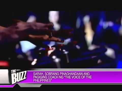 The Buzz Exlusive: Sarah G (04/21/13)