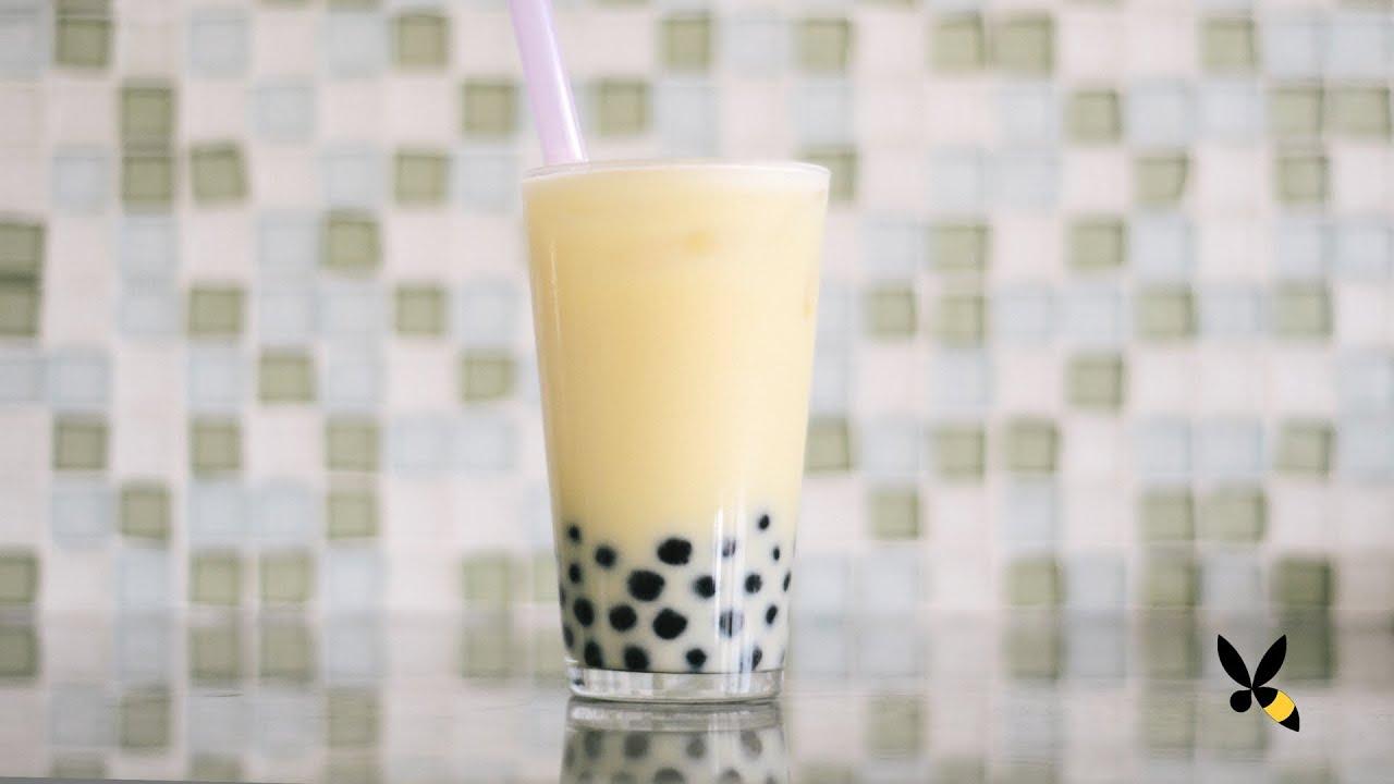 Bubble Milk Tea with Pearls Recipe - HoneysuckleCatering - YouTube