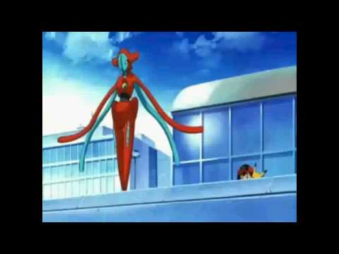 Deoxys VS Rayquaza the movie