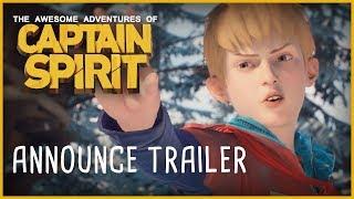 Captain Spirit - Announce Trailer
