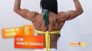 Treino de Costas com Renata Camargo