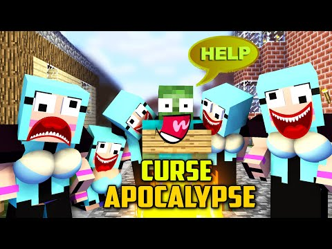 MONSTER SCHOOL : UGLY CURSE LOVE APOCALYSE - FUNNY MINECRAFT ANIMATION