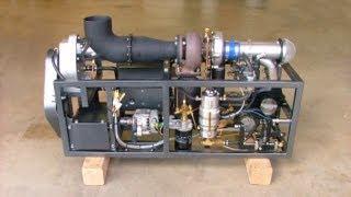 GR-5A Experimental Turboshaft Jet Engine Demo