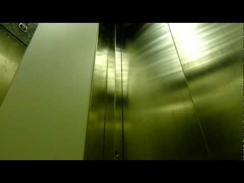 AWESOME hydraulic elevator sound