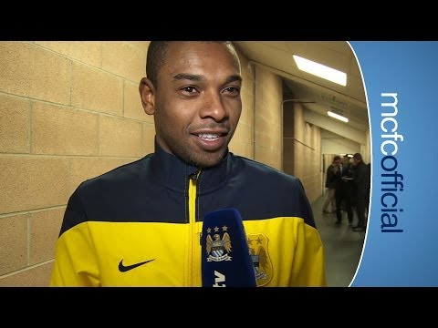 """VICTORY IS FOR THE FANS"" Fernandinho Post Match Hull City 0-2 City"