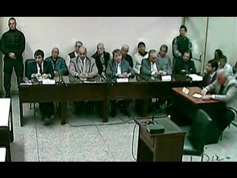 Lesa humanidad: condenaron a los siete imputados en un juicio oral en Santa Fe