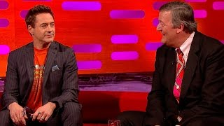Robert Downey Jr. And Stephen Fry Discuss Baby Names