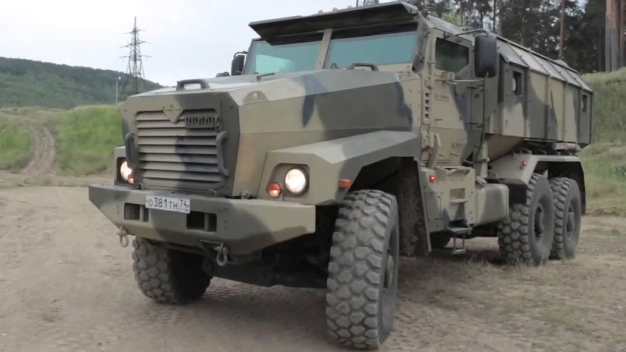 Vídeo: O Ural-63099 e outros Caminhões Militares da industria russa