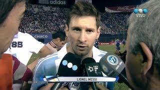 Paraguay 2 Vs Argentina 5 Eliminatorias Brasil 2014 HD