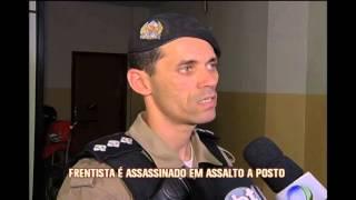 Presos suspeitos de matar frentista em posto de combust�ves em Valadares