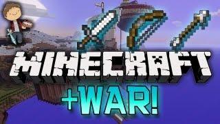 Minecraft: Lava Core, Capture the Monument - WAR Mini-Games w/Mitch & Jerome!