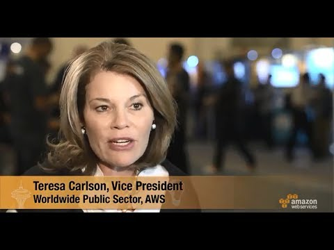 AWS Report @ AWS re:Invent - Interview with Teresa Carlson