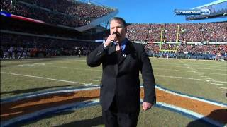 2011 NFC Championship Bears Vs Packers : Star-Spangled Banner