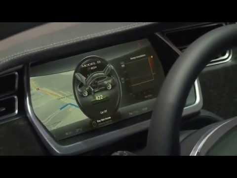 Tesla Model S Genewa Motor Show 2014