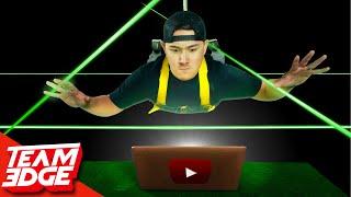 Spy Laser Challenge! | Stealing The YouTube Algorithm!!